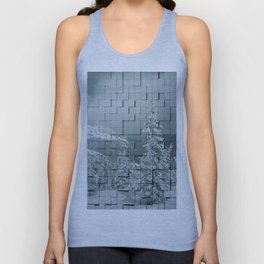 Winter collage Unisex Tank Top