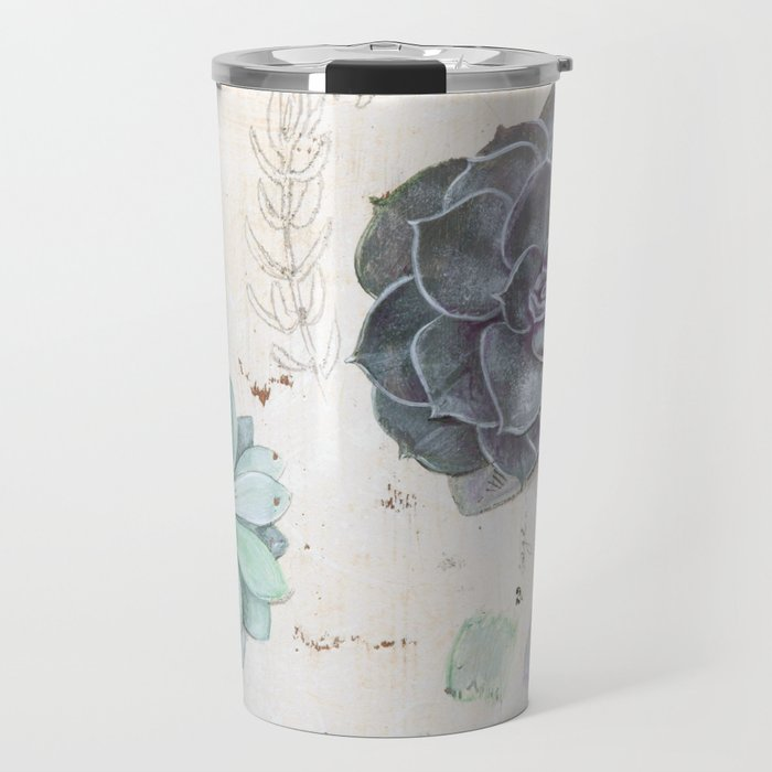 Echeveria Succulent Travel Mug