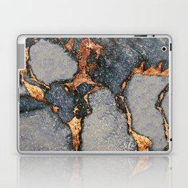 GREY & GOLD GEMSTONE Laptop & iPad Skin