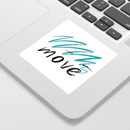 move Sticker