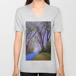 Sparkling River Unisex V-Neck