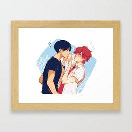 dense Framed Art Print