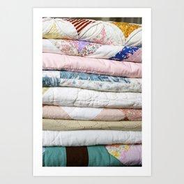 quilts Art Print