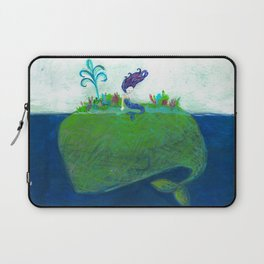 Mermaid & Big Blue Laptop Sleeve
