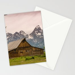 Grand Teton National Park Adventure Barn - Landscape Photography Stationery Cards