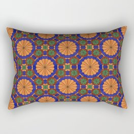 Arg of Karim Khan Zand Stained Glass Rectangular Pillow