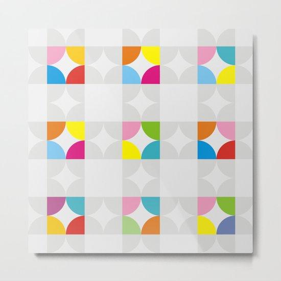 Pattern GMTRC-P1 Metal Print