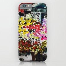 Flower market iPhone 6s Slim Case