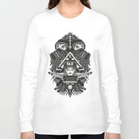 gore Long Sleeve T-shirts featuring hard gore by Andrea Moresco