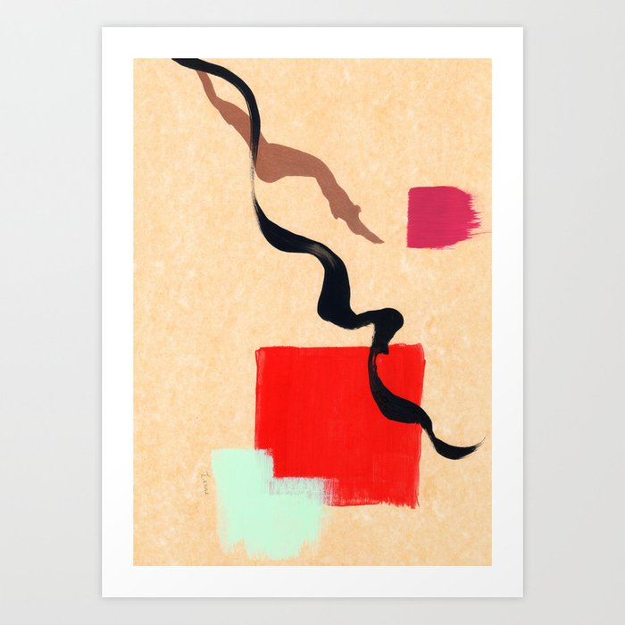 Abstract Modern Painting Minimalism