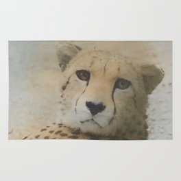 cheetah in the jungle Rug