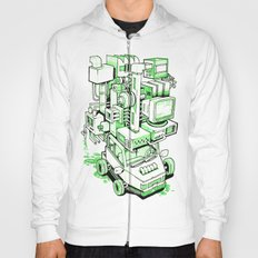 Green Machine Car Hoody