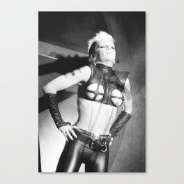 the power of punk Canvas Print