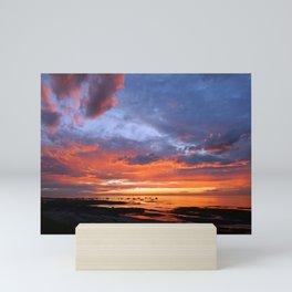 Stunning Seaside Sunset Mini Art Print