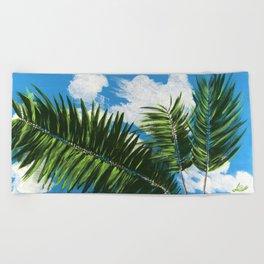 Calm Palms Beach Towel