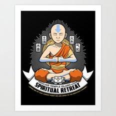 Spiritual Retreat Art Print