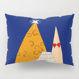 Xmas Cheese Pillow Sham