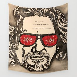 """The Dude Abides"" featuring The Big Lebowski Wall Tapestry"
