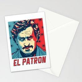 El Patron Stationery Cards