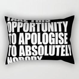 Conor McGregor - Absolutely Nobody Rectangular Pillow