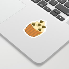 Chocolate Chip Cupcake Sticker