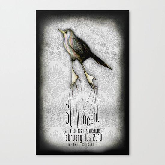 St. Vincent @ Metro Canvas Print