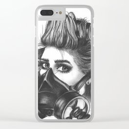 Pretty Mother F*cker. Clear iPhone Case