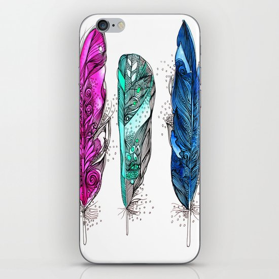 dream feathers 2 iPhone & iPod Skin