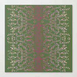 Mangueira Leaves Canvas Print