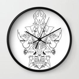 The art has no name Wall Clock