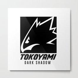 Tokoyami Dark Shadow Metal Print