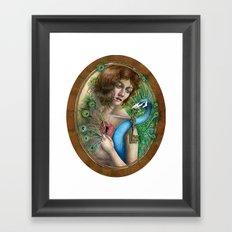 The Stolen Key Framed Art Print