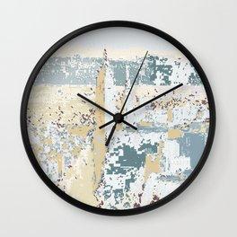 New York Pattern Lines 104 Wall Clock