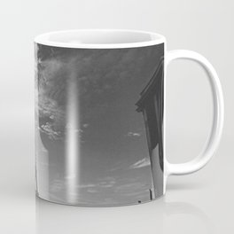 Empty Paris - Black and white Fine Art Photography Coffee Mug