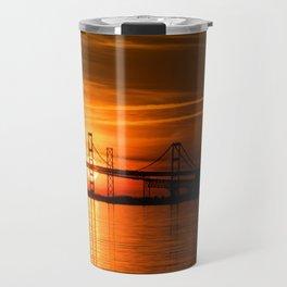 The Chesapeake Bay Bridge Travel Mug