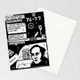 SK 444 Son of sam b n w Stationery Cards