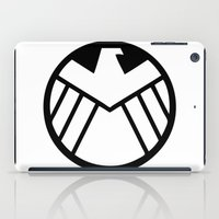 shield iPad Cases featuring SHIELD by Bastien13