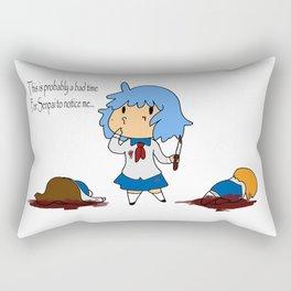 Bad Time for Noticing Rectangular Pillow