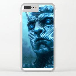 Undead King Clear iPhone Case