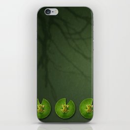 Frogs iPhone Skin