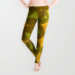 Space Shapes - 70s Abstract Leggings
