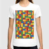 playstation T-shirts featuring Lego bricks by eARTh