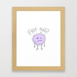 Free Hugs? Framed Art Print