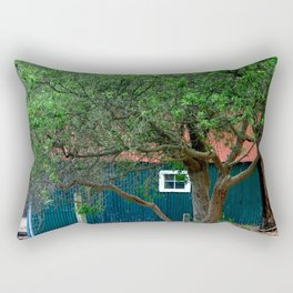 Old Boat Shed Rectangular Pillow