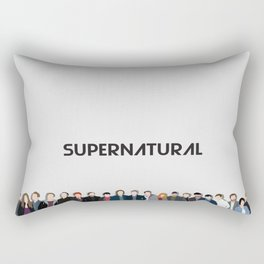Supernatural Cast Rectangular Pillow