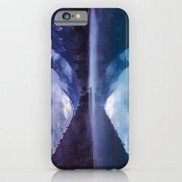 She Haunts Me iPhone Case