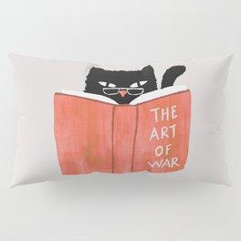 Cat reading book Pillow Sham