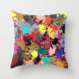 Bug's Summer Throw Pillow