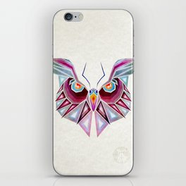 owl or butterfly? iPhone Skin
