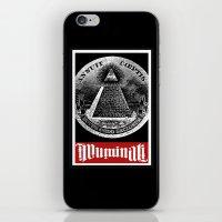 illuminati iPhone & iPod Skins featuring Illuminati  by Spyck
